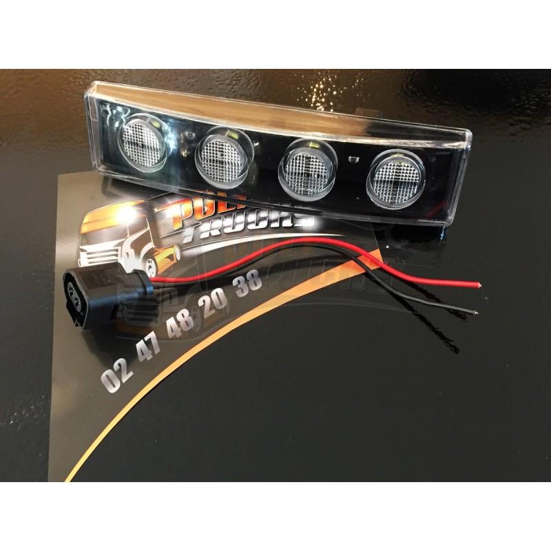 Pack Veilleuse Boreman 4 Leds + Connecteur