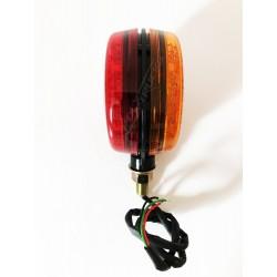 FEUX TYPE ESPAGNOL - 32 LEDS - ROUGE/BLANC