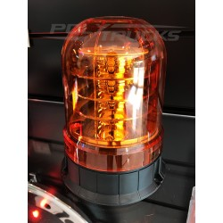 GYROPHARE 3 ETAGES ORANGE - LEDS