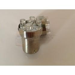 AMPOULE R5W - 5 LEDS - ORANGE