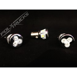 AMPOULES 8 LEDS - 24V - ROUGE