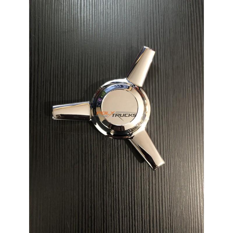 SPINNER CHROME DROIT - 17 CM (paire)
