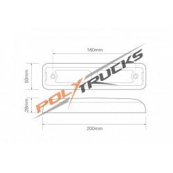 FEU 3 FONCTIONS ARRIERE-LED-12/24V