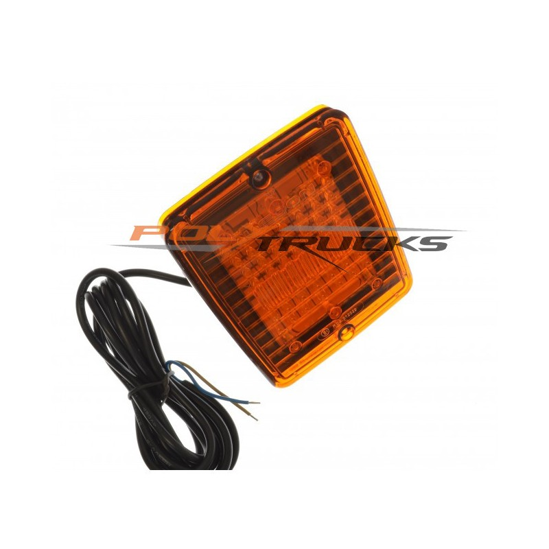 FEU ARRIERE LED - STOP/VEILLEUSES - CABOCHON ROUGE