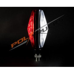 FEU DE GABARIT - TYPE ESPAGNOL LED - BLANC/ROUGE