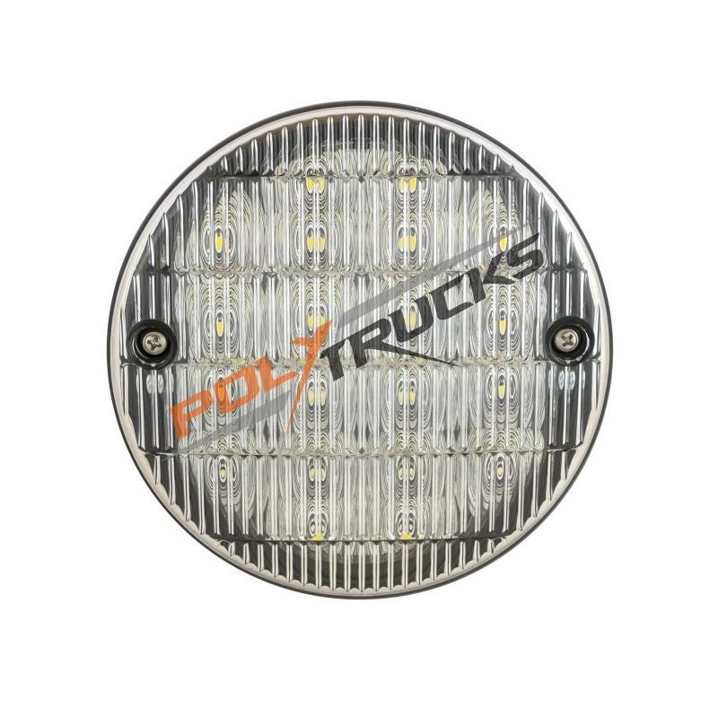 FEU ARRIERE LED-12/24V-DE RECUL-ROND