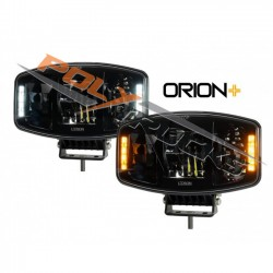 PHARE LONGUE PORTEE - FULL LED - ORANGE/BLANC - ORION+