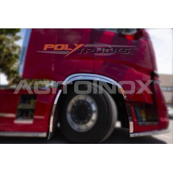 HABILLAGES DE PASSAGE DE ROUE AVANT INOX - IVECO S-WAY