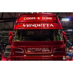 Visière Scania Type  143 - 2 Veilleuses