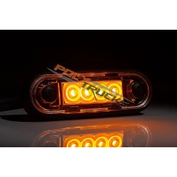 FEU DE GABARIT 4 LEDS ORANGE - Z