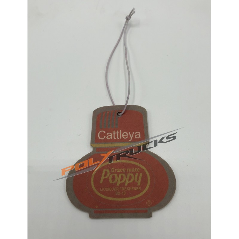 DESODORISANT POPPY CARD - CATTLEYA