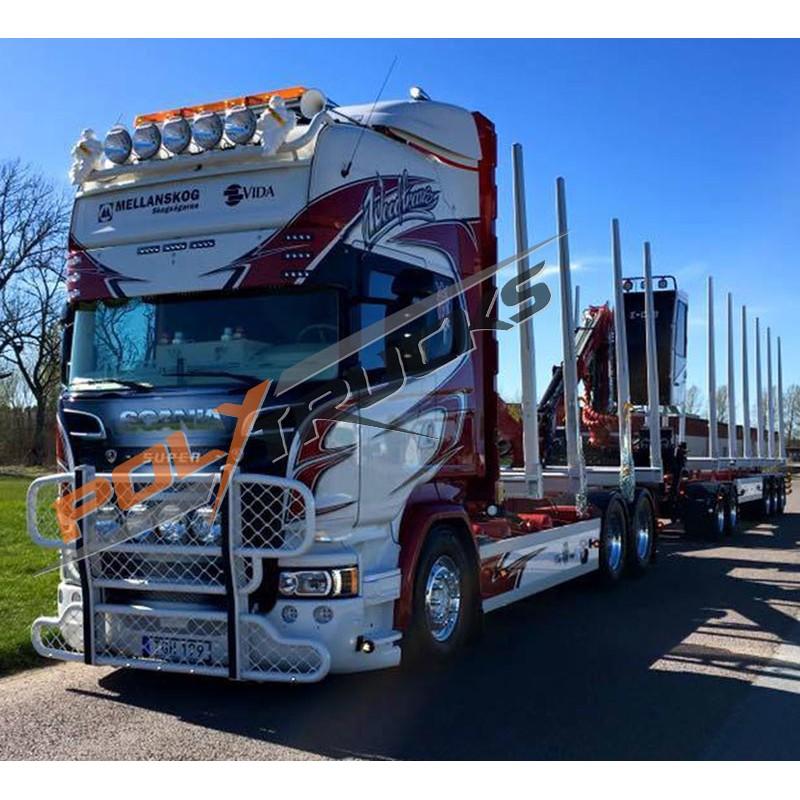 Scania R2 - Grand Pare choc Pare Buffle Alu Anodise HYPRO
