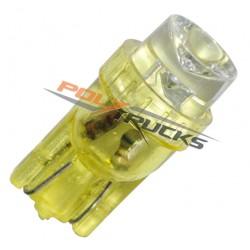 AMPOULE LED - W5W - 1 LED - ORANGE - 24V - 5W