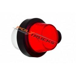 PACK FEU SUEDOIS - ROUGE/ BLANC - 12/24V - AVEC 5M DE CABLE