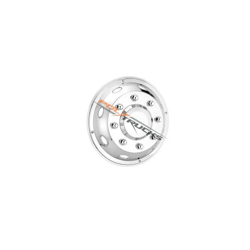 "Enjoliveur avant Custom 19.5"" Inox"