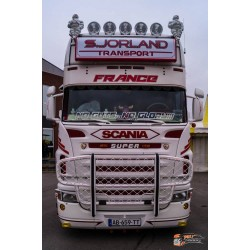 Visière polyester Scania