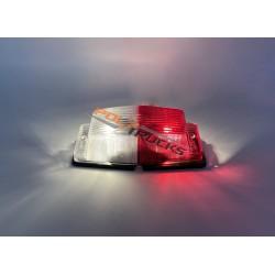 PACK DOUBLE AMPOULE BLANC ROUGE + AMPOULE HALOGENE 5W