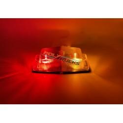 PACK DOUBLE AMPOULE ROUGE ORANGE + AMPOULE LED