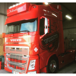 Visière Polyester Volvo FH4 430mm