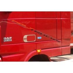 CONTOUR POIGNEE DE PORTE INOX DAF XF - LOGO DAF - LA PAIRE