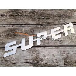 "LOGO ""SUPER"" INOX"