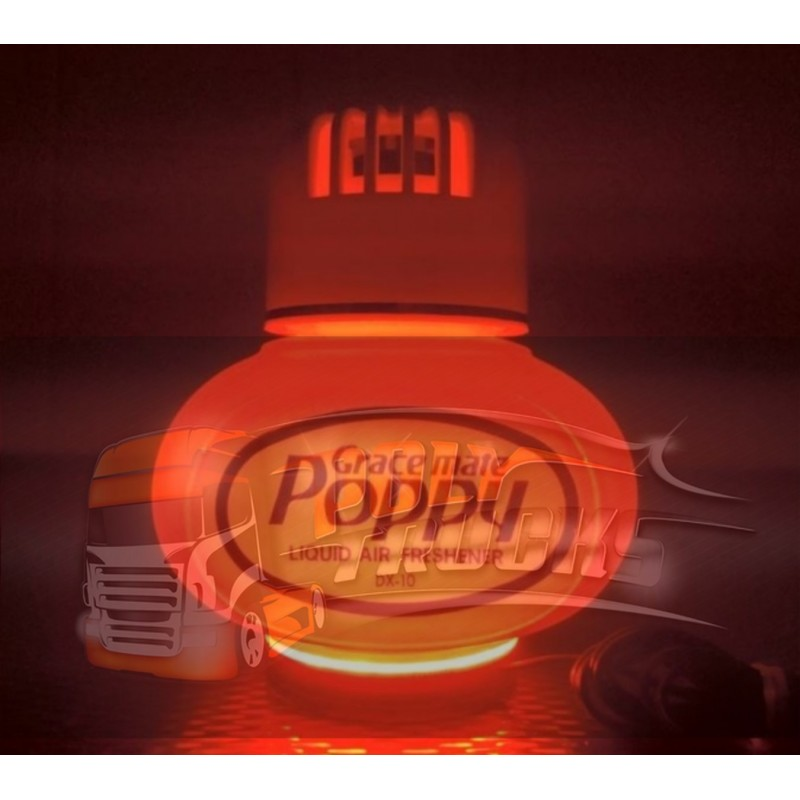 SUPPORT LUMINEUX 12/24 VOLTS POPPY ORIGINAL - ROUGE