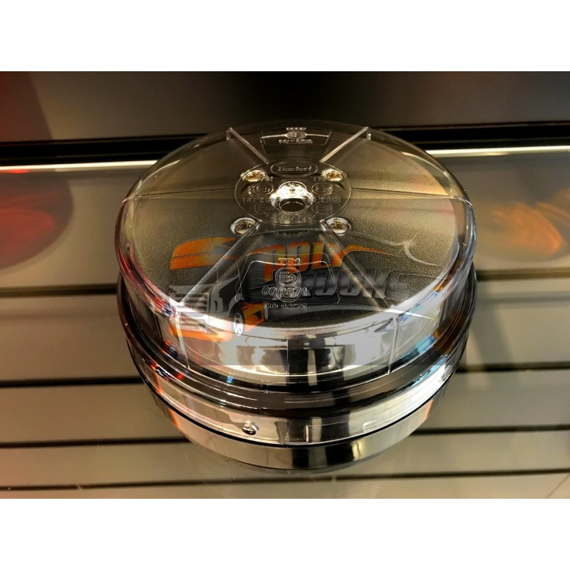 GYROPHARE ORANGE 12 LEDS EXTRA COMPACT 10/30VOLTS