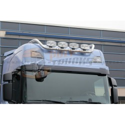 RAMPE DE TOIT INOX  - SCANIA Higline normal