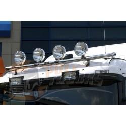 RAMPE DE TOIT INOX AVEC LEDS - NOR