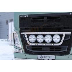 RAMPE DE CALANDRE INOX AVEC LEDS - CLASSIC