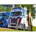 Visière Scania NTG - 350mm -  6 Emplacements de veilleuses