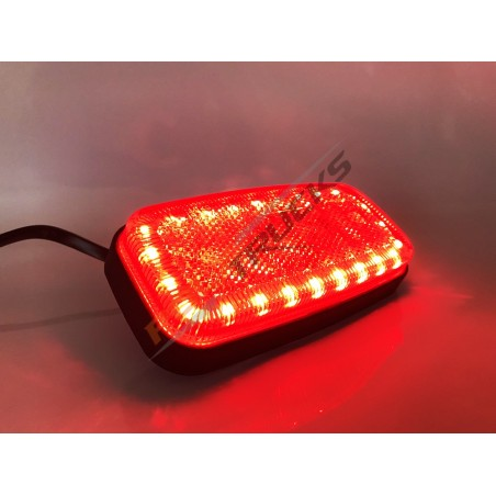 FEU DE GABARIT - LED RECTANGULAIRE - ROUGE