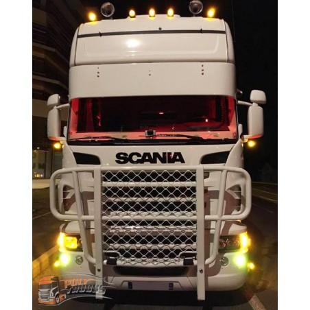 Visière Scania R - 410mm - Lisse