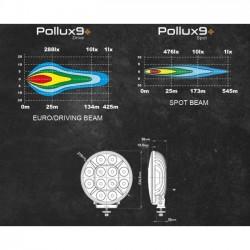 PHARE LONGUE PORTEE - FULL LEDS - POLLUX 9+ - SPOT