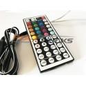 BANDE 210 LEDS FLEXIBLE - TELECOMMANDE - 20 COULEURS