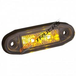 FEU DE GABARIT - EASY FIT LED - BLANC - 12/24V - BOREMAN