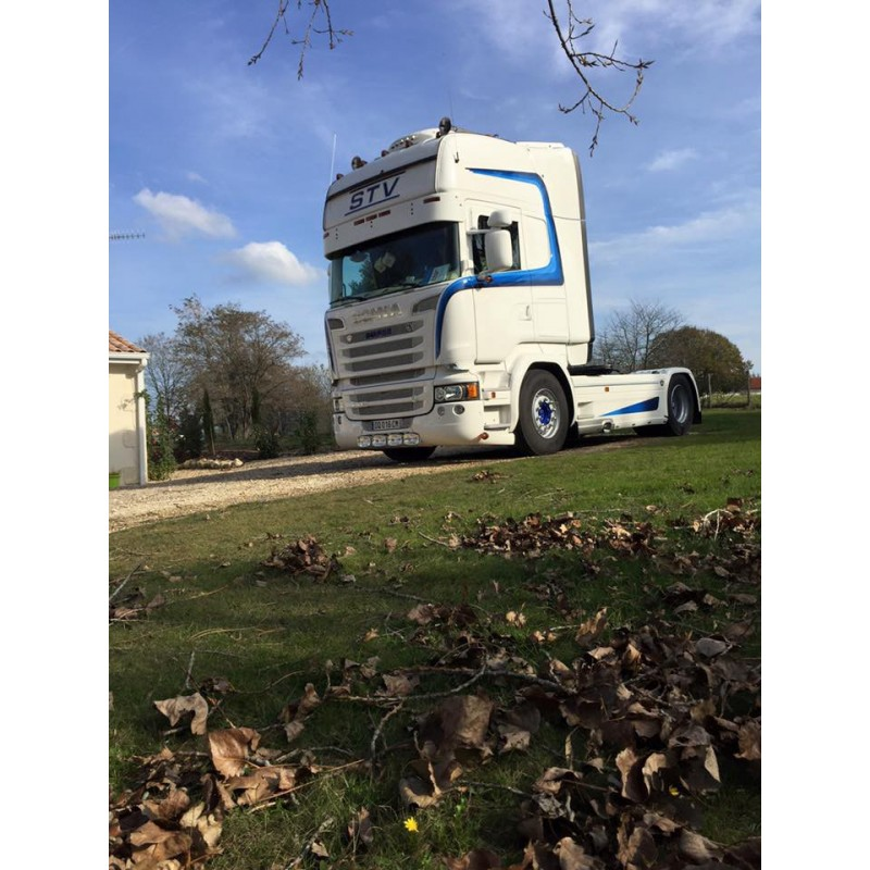 Visière polyester Scania