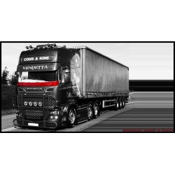 Pare Perroquet Polyester Scania Streamline