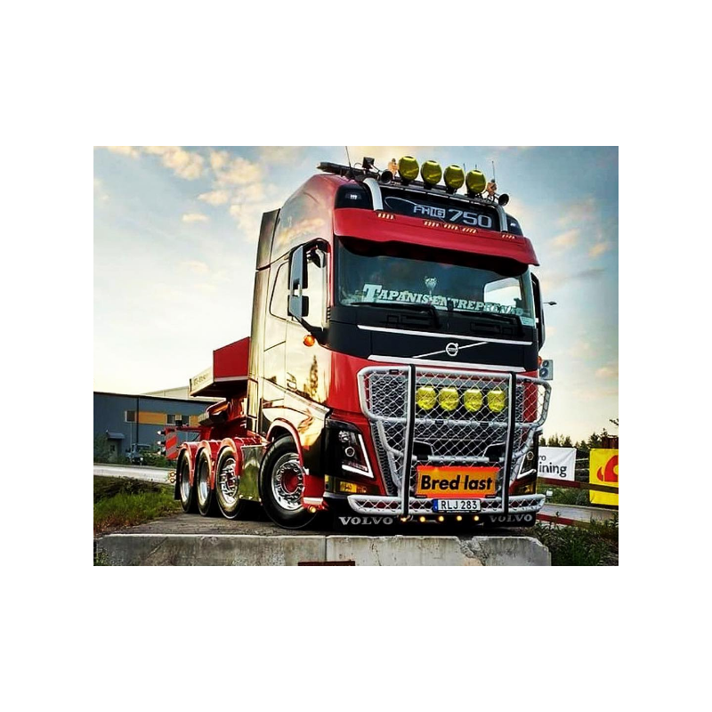 Visière Polyester Volvo FH4 330mm