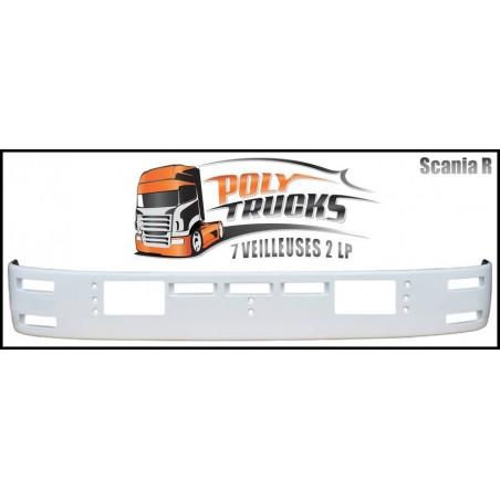 Visière Scania R - 350mm -  7 Emplacements de veilleuses, 2 LP - STR