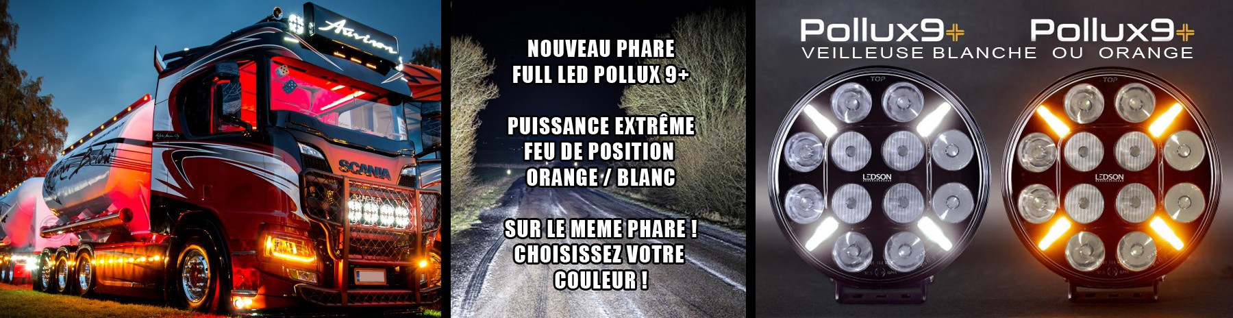 Phare led pollux